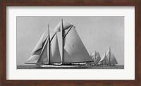 Schooner Race Fine Art Print
