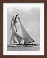 The Schooner Half Moon at Sail, 1910s Fine Art Print