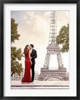 Romance in Paris I Fine Art Print