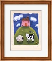 Pink Farmhouse Fine Art Print