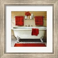 Red Bain III Fine Art Print
