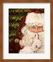Secret Santa II Fine Art Print