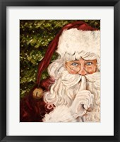 Secret Santa II Fine Art Print