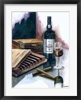 Cigar Press Fine Art Print