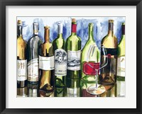 Bottles Reflect I Fine Art Print