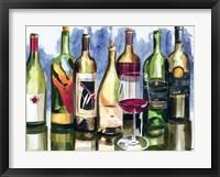 Bottles Reflect II Fine Art Print