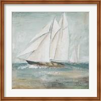 Cape Cod Sailboat I Fine Art Print