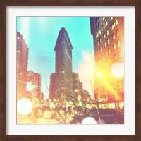 City Stroll II Fine Art Print