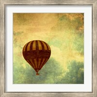 Air Balloon Ride Fine Art Print