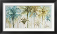 Watercolor Palms Fine Art Print