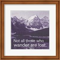 GO Wander Fine Art Print