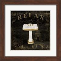 Classic Relax Sink Fine Art Print
