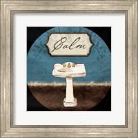 Calm Sink Round Fine Art Print