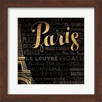 The Left Side of Paris Fine Art Print