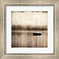 Misty Morning Boat Fine Art Print