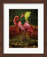 Flamingo Fairy 82390 Fine Art Print