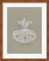Ballet Dress II Fine Art Print