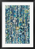 Navy Blue Sky Panel Fine Art Print