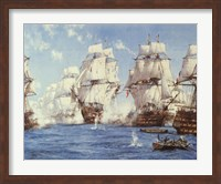Battle of Trafalgar Fine Art Print