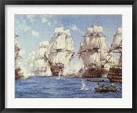 Battle of Trafalgar Fine Art Print