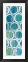 Stack of Tubes Blue III Fine Art Print