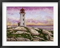 Nova Scotia - Peggy's Cove Lighthouse Fine Art Print