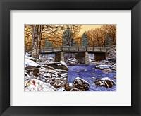 Bridge Over Glade Creek - West Virginia Fine Art Print