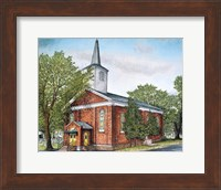 Saint Mary's Church - Eden, Ny Fine Art Print