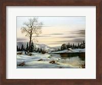 Winter Landscape 25 Fine Art Print