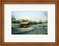 Winter Landscape 27 Fine Art Print