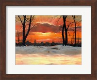 Winter Shadows Fine Art Print