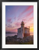 Lighthouse Moon Fine Art Print