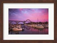 Yaquina Bay Sunrise Fine Art Print