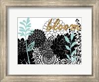 Lacy Garden II Fine Art Print