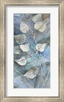 Silver Leaves I Fine Art Print
