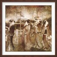 Eastern Gathering Fine Art Print