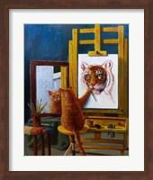 Norman Catwell Fine Art Print