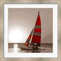 Sailboat Sunset Fine Art Print