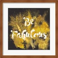Glitter and Gold I Fine Art Print