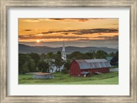 A Farm and A Prayer Fine Art Print