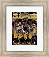 Cleveland Cavaliers 2016 NBA Champions Composite Fine Art Print