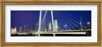 Margaret Hunt Hill Bridge, Dallas, Texas Fine Art Print