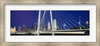 Margaret Hunt Hill Bridge, Dallas, Texas Fine Art Print