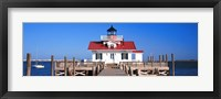 Roanoke Marshes Lighthouse, Outer Banks, North Carolina Fine Art Print