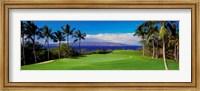 Wailea Emerald Course, Maui, Hawaii Fine Art Print