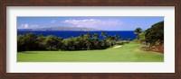 Wailea Golf Club, Maui, Hawaii Fine Art Print