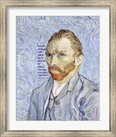 Great Things -Van Gogh Quote 3 Fine Art Print