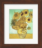 Small Things - Van Gogh Quote 1 Fine Art Print