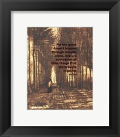For the Great - Van Gogh Quote 2 Fine Art Print