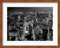 Midtown Manhattan at Night 2 Fine Art Print